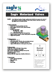 Rapid Actuators - Sagiv Motorized Valves